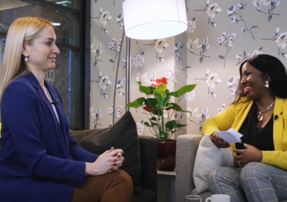 Inspiring Women Leaders Interview Series with Aylin Bumin