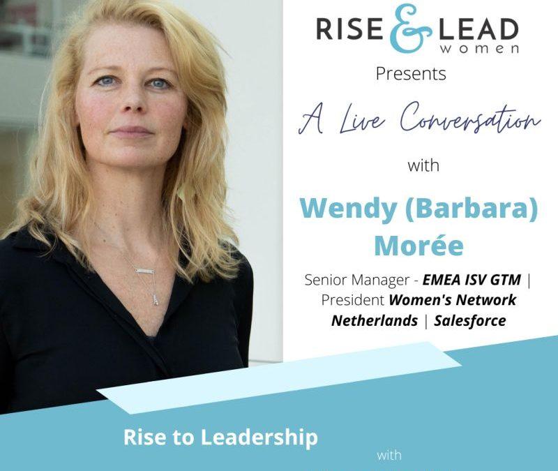 Motherhood & Leadership with Wendy Morée, Senior Manager – EMEA ISV GTM at Salesforce