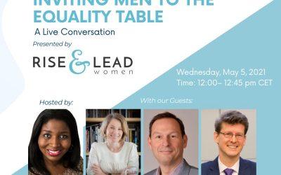 Inviting Men To The Equality Table with Rick Zednik, Zuzana Púčiková and Stefan Tonnon