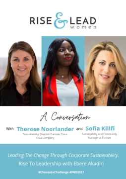 Leading The Change Through Corporate Sustainability with Therese Noorlander and Sofia Kilifi